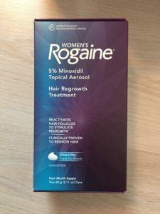 ยาปลูกผมหญิง Rogaine Minoxidil 5% แบบโฟม