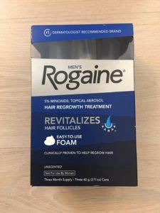 ยาปลูกผมชาย Rogaine Minoxidil 5% แบบโฟม