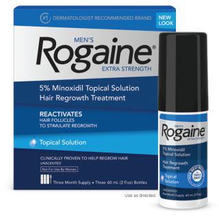 ยาปลูกผม Rogaine สำหรับผู้ชาย แบบน้ำ, โรเกนชายแบบน้ำ, โรเกน