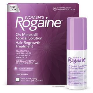 ยาปลูกผม Rogaine สำหรับผู้หญิง แบบน้ำ, โรเกน