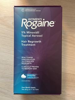 ยาปลูกผมหญิง Rogaine Minoxidil 5% แบบโฟม, โรเกนโฟม